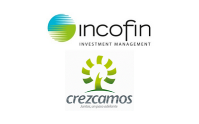 Advisor to Incofin (Colombia) in the sale of Crezcamos, specialized in the provision of microcredits