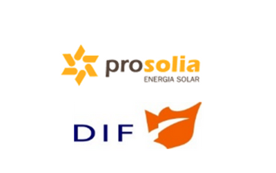Sale of a solar photovoltaic plant to DIF