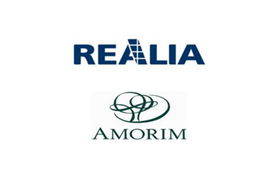 Realia constituted a joint venture with Amorim to jointly invest in projects in Spain and Portugal