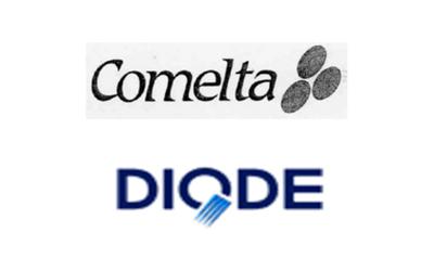 Venta de la distribución de componentes a Diode