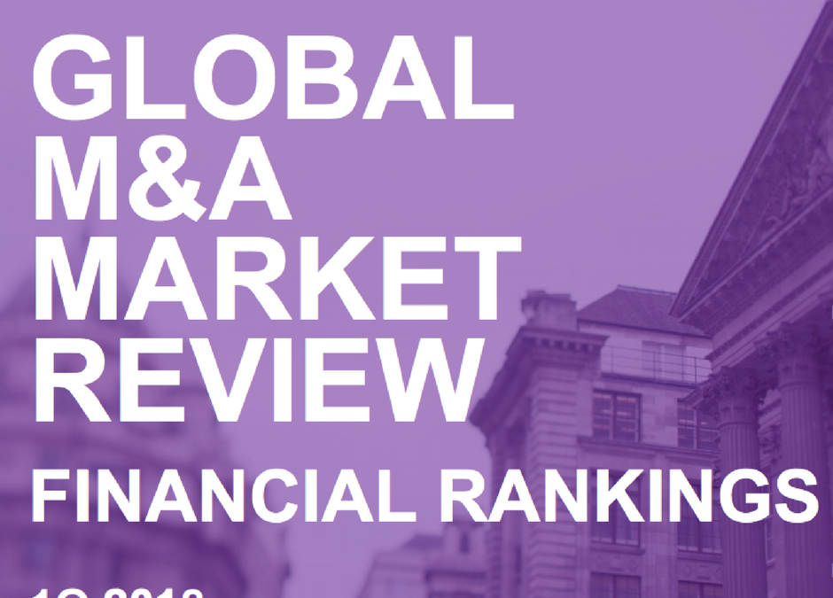 GBS Finance ranked 6th in Iberic by deal value advised in the Bloomberg M&A Advisory table