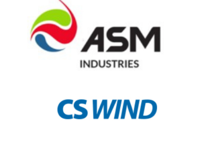 GBS Finance advises ASM Industries on the entry of CS Wind into its shareholding